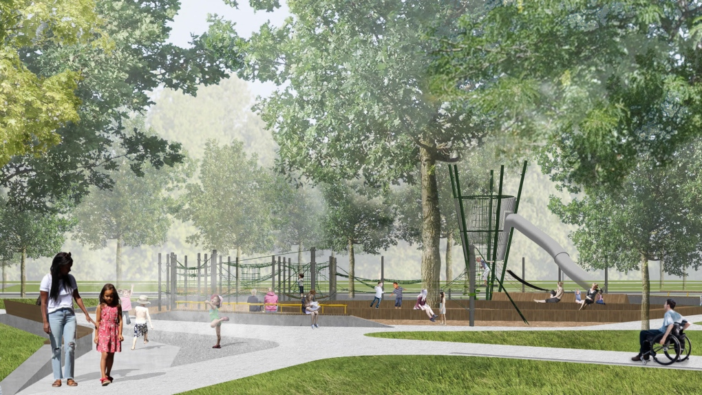 Parc Lafontaine redesign