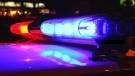 A flashing light on top of a police cruiser is seen in this stock image. (Shutterstock)