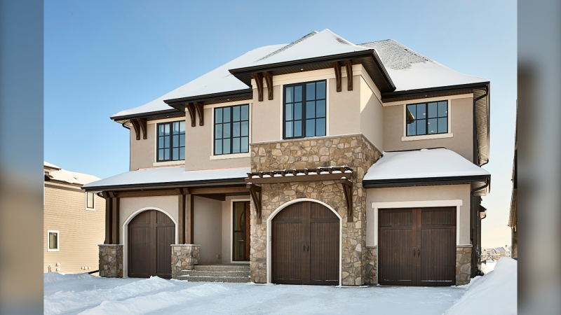 A $2.6 million showhome is up for grabs in this year's Foothills Hospital Home Lottery, along with a Canmore condo (Courtesy: Foothills Hospital Home Lottery)