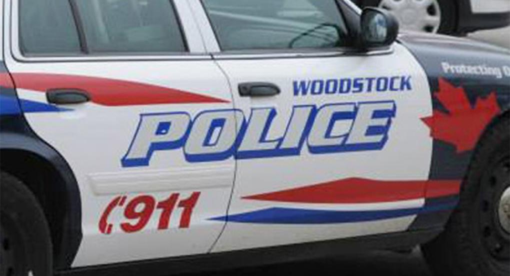 Woodstock police cruiser