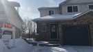 This semi-detached home in Kitchener sold for $300,000 over its asking price (Tegan Versolatto / CTV News Kitchener)