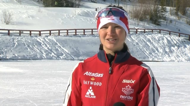 She won gold in para-nordic ski and now she's our Athlete of the Week, Brittany Hudak.