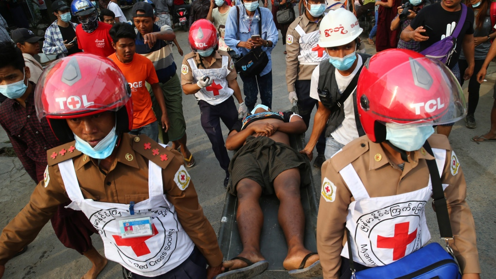 At least one killed in protest in Myanmar - emergency service