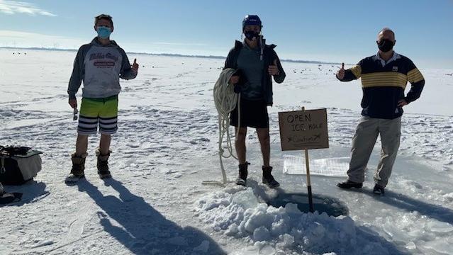 Kingston polar plunge