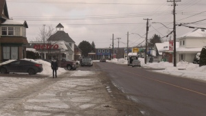 The Renfrew County and District Health Unit says there have been 27 cases of COVID-19 in towns in the Barry's Bay area since the start of the year. (Dylan Dyson/CTV News Ottawa)