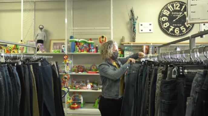 Some local thrift stores seeing a surge in donatio