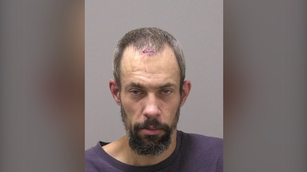Waterloo regional police are searching for Phillip Nicholson in connection to a stabbing. (Source: Twitter/@WRPSToday).
