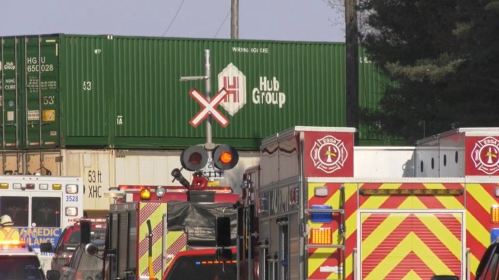 Boy killed by train in Springwater Twp