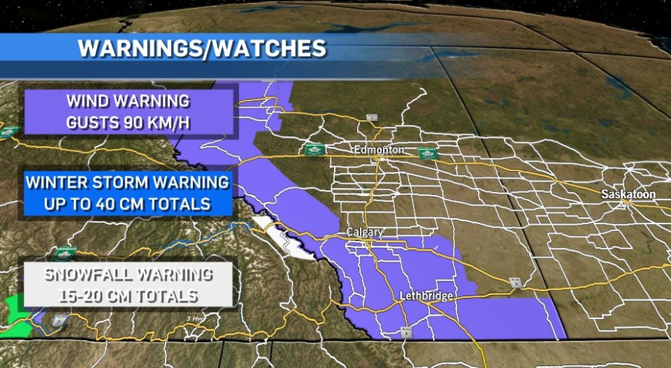 Watches and warnings for Feb. 21.