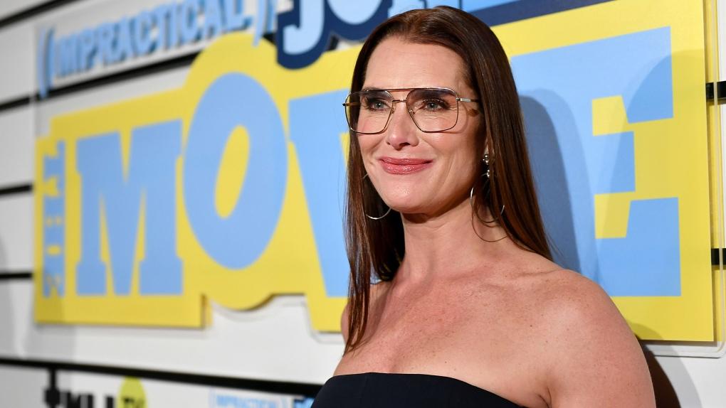 Brooke Shields attends movie premiere in NYC