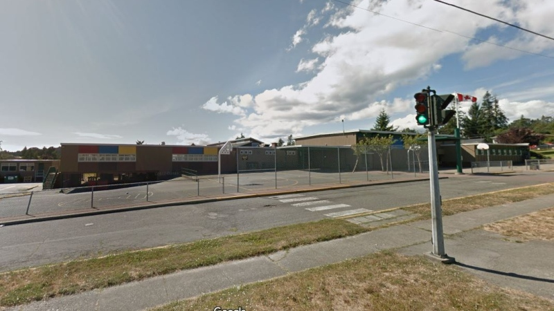 Glanford Middle School in Saanich. (Google Maps)