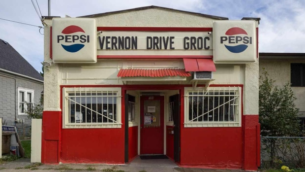 Vernon Drive Grocery is shown in a photo posted on Realtor.ca.