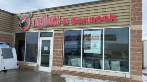 Moose and Bannock recently opened in West Regina. (Gareth Dillistone / CTV News Regina)