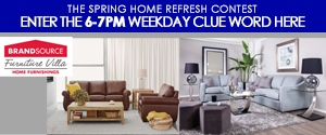 The Spring Home Refresh Contest 6-7pm Rotator
