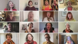 Watch the full music video of members of the North Bay Choral Society singing 'Chariot's Comin,' as featured on CTV News at 6.