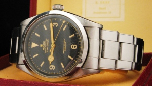 The Rolex Explorer, circa 1953, sold at a New York auction house last month for US$126,000. (Jonathan Mossop)