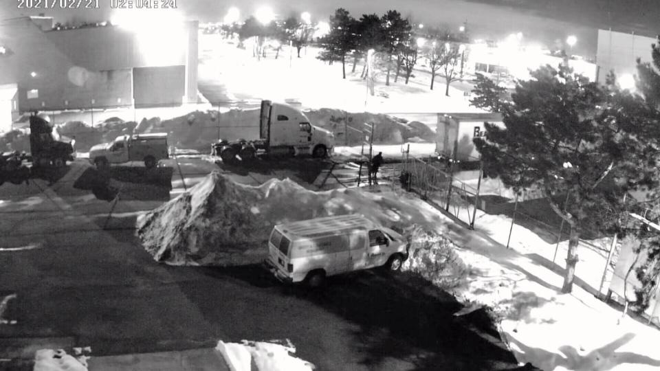 truck theft