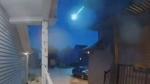 Meteor seen over Alberta