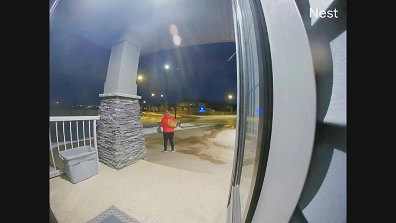 A video of the meteor streaking across Calgary Feb. 22, 2021