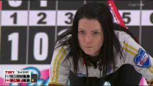 Ontario and Canada were the only teams among 18 without a loss Monday at the Scotties Tournament of Hearts.