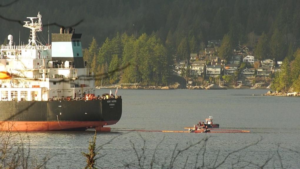 Burrard Inlet oil spill