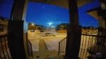 Meteor streaks across Alberta skies