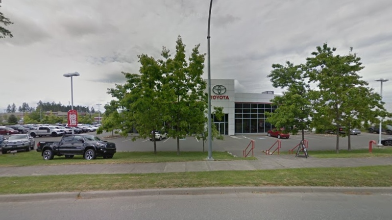 Comox Valley Toyota. (Google Maps)