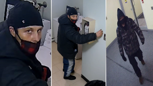 Ottawa police are searching for a man they say committed several break-ins in Centretown. (Ottawa Police)