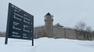 Advocates say a detainee at the Laval Immigration Holding Centre (pictured) has been on a hunger strike since Feb. 15, consuming only water since then. (Christine Long, CTV News)