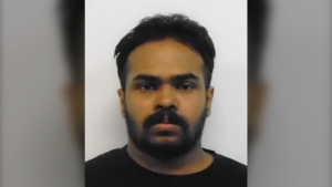 A Canada-wide warrant has been issued for Thusanth Ariyanayagam,26, after he allegedly breached his statutory release. (Photo submitted by the Ontario Provincial Police)