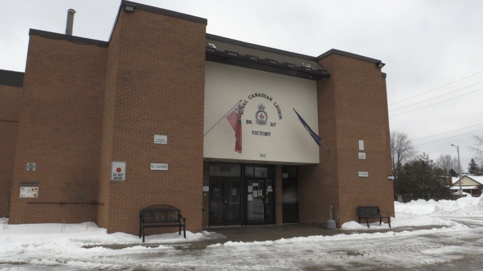 The Victory Legion in London, Ont.