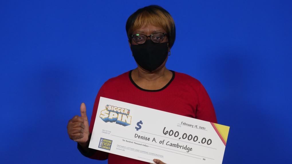 A lottery winner