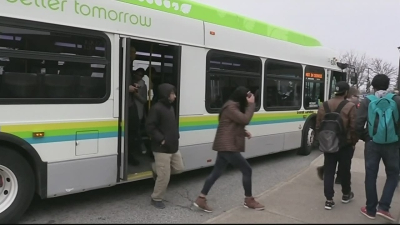 Pilot approved for College express bus route