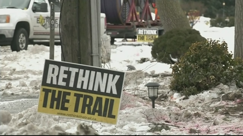 Some homeowners oppose Ganatchio Trail extension