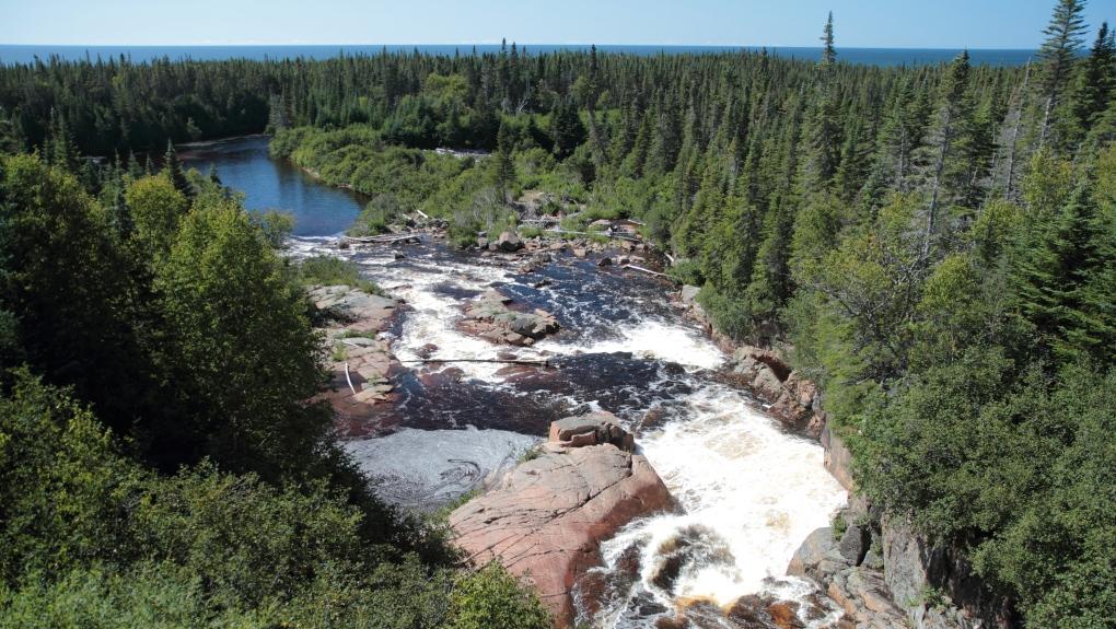 River Jupitagon, Rivière-Saint-Jean, Cote-Nord