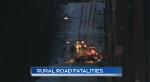 More fatal crashes on rural roads