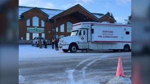 snowmobiler search in Whiteshell