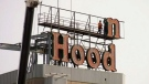 Iconic Robin Hood sign heading for a makeover