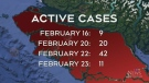 Island COVID-19 cases remain relatively high