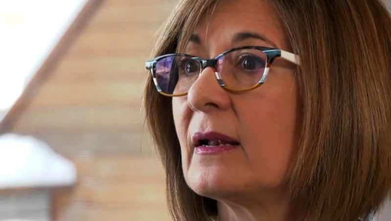 She's passionate about lung cancer research and she's this week's Inspired Albertan, Bernadette Geranazzo