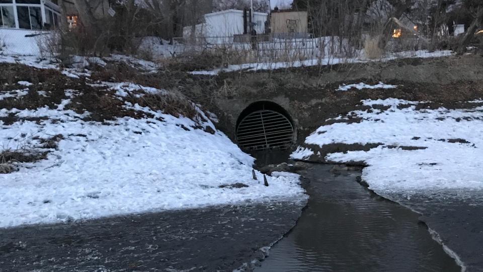 Wolseley drain overflow