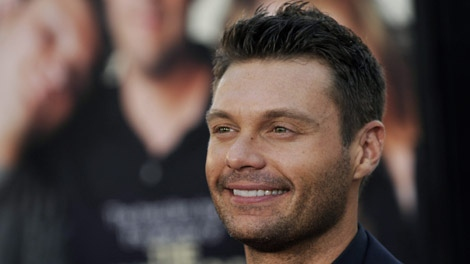 Ryan Seacrest arrives at a film premiere in Los Angeles, Monday, July 20, 2009. (AP Photo/Chris Pizzello)