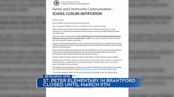 St Peter Elementary Brantford