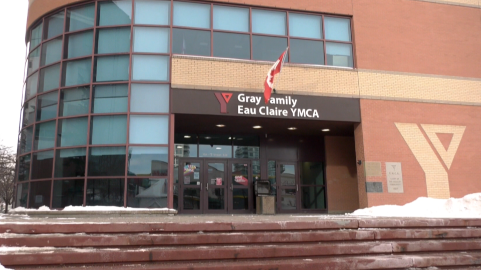Gray Family, Eau Claire, YMCA, closed