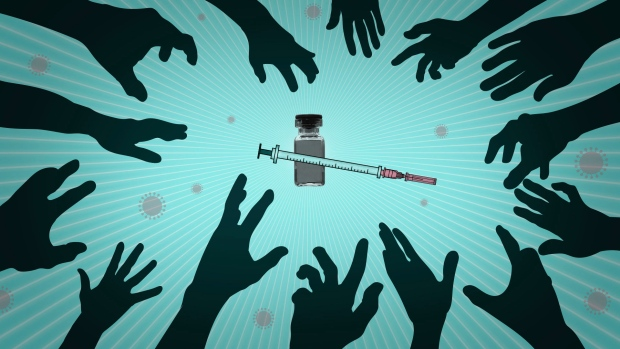CTV News Toronto has everything you need know about receiving the COVID-19 vaccine in Toronto. (AP Illustration / Peter Hamlin)
