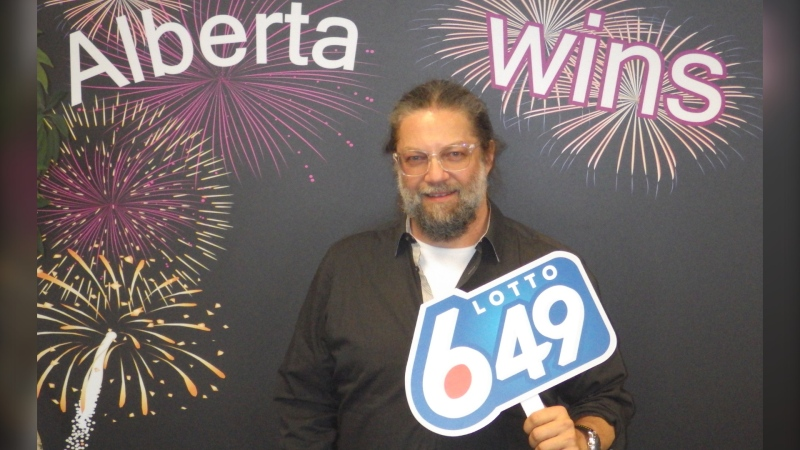 Calgarian Greg Gerla won the million-dollar prize in the Jan. 27 LOTTO 6/49 drawing. He purchased the winning ticket in Lethbridge. (supplied)