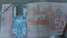 Police say in the morning hours of Feb. 22, a man visited a convenience store on Main Street in Kingston, N.S. and used a counterfeit $50 Canadian bill to make a purchase. (Photo courtesy: RCMP)
