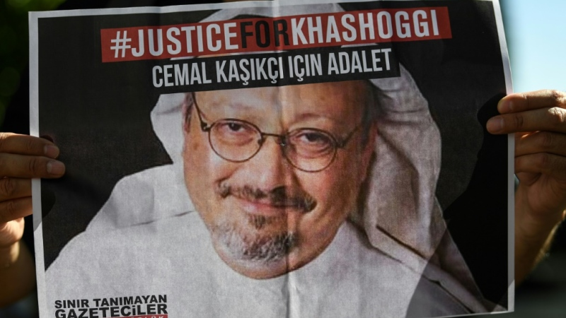 Jamal Khashoggi, a Washington Post columnist and US resident, was killed in 2018. (AFP)
