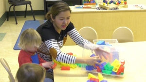 The provincial government is offering $561 per child to families who had to pay for childcare costs between April to December 2020.