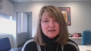 President and CEO of Southlake Regional Hospital in Newmarket, Arden Krystal, talks about her battle with COVID-19.